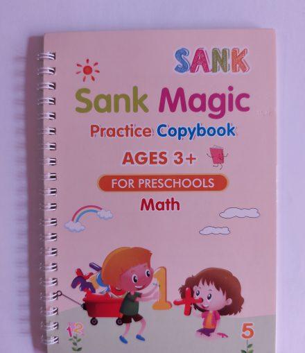 kidbook, caiet de lucru pentru matematica+stiloul inteligent, al cărui scris dispare după ce s-a uscat