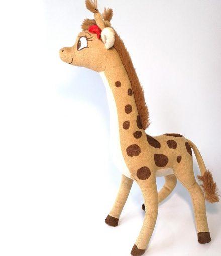 jucarie de plus girafa lina